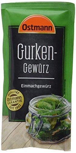 Ostmann Gurken Gewürz, 9er Pack (9 x 30 g)