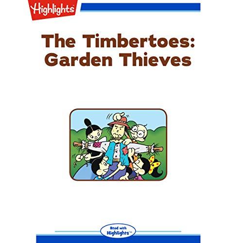 The Timbertoes: Garden Thieves copertina