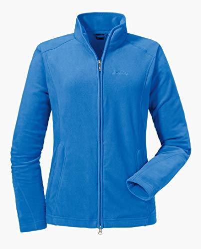 Schöffel Leona2 Damen Fleece Jacke, Blau (Palace blue), 52