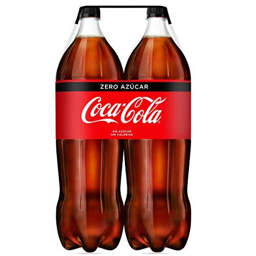 Coca-Cola - Zero, Refresco con gas de cola, 2 l (Pack de...