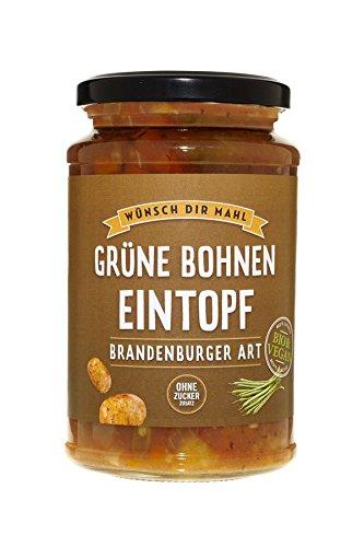 WDM Bio-Fertigprodukte Grüner Bohneneintopf nach Brandenburger Art (380 g) - Bio