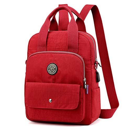 Mini Backpack, JOSEKO Small Women Backpacks Travel Bag Waterproof Shoulder Bag Casual School Backpack Elegant Stylish