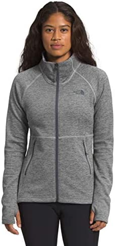 The North Face Women s Canyonlands Full Zip TNF Medium Grey Heather Medium product image