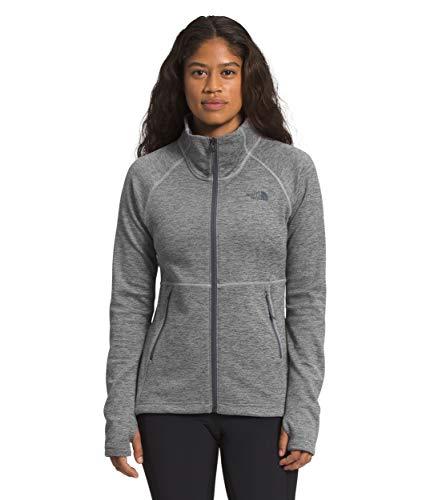 The North Face Women's Canyonlands Full Zip, TNF Medium Grey Heather, Small