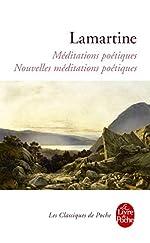 Méditations poétiques nouvelles méditations poétiques d'Alphonse de Lamartine
