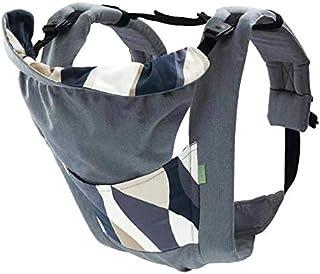 CUBY 抱っこひも おんぶ ベビーキャリア 新生児から使える5WAY 装着簡単 抱っこ紐 (グレー)