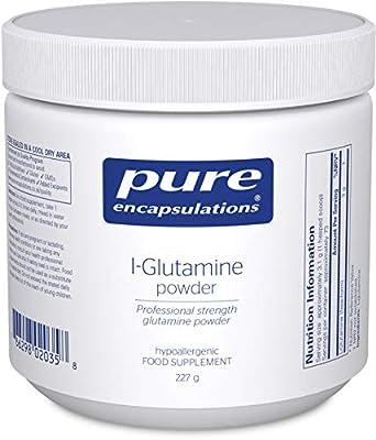 Pure Encapsulations - L-Glutamine Powder - Hypoallergenic Amino Acid Supplement - 227 Grams