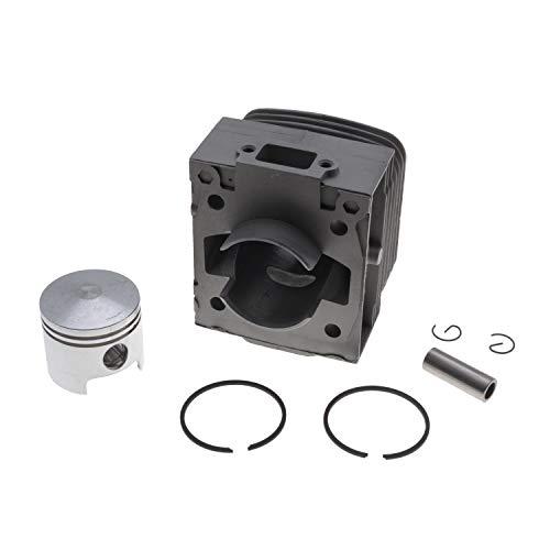 Jardiaffaires Zylinder, Kolben, 39,3 mm, anpassbar, für Motorsense Kawasaki TD40