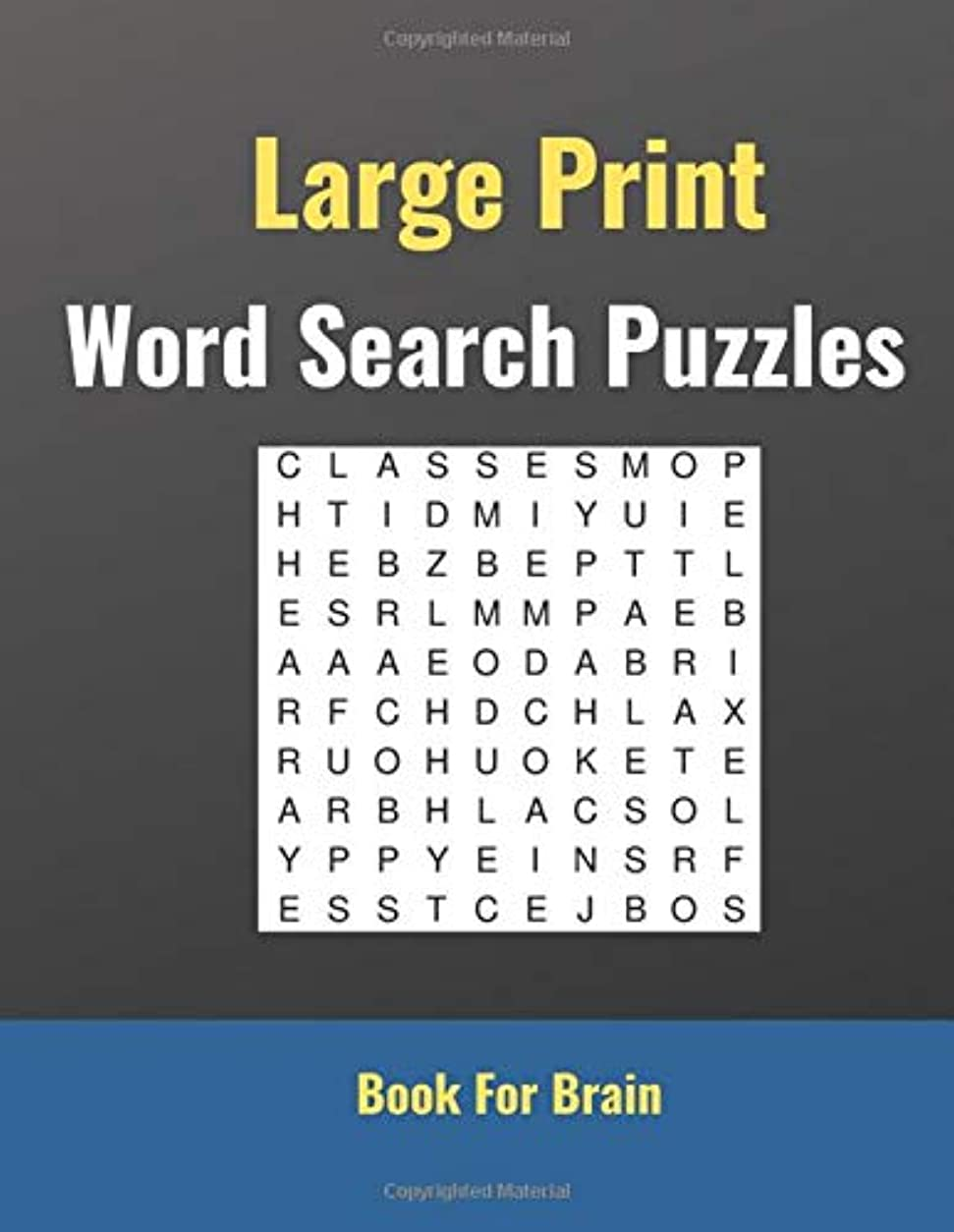 半円それに応じてコンピューターを使用するLarge Print Word Search Puzzles: 100 Puzzles, Large Print, For kids and adults
