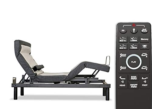 10 Best Adjustable Beds for Seniors in 2020 - Sven & Son Queen Adjustable Bed Base Frame