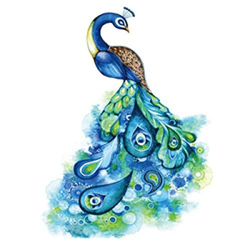 Moda flor brazo tatuaje pegatinas impermeable tatuaje pegatinas realista flor medio brazo tatuaje pegatinas 3Pcs-39 148 * 210MM