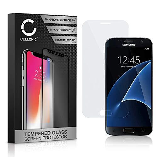 CELLONICVetro Protettivo di Schermo Compatibile con Samsung Galaxy S7 (SM-G930) (3D Full Cover 9H 0.33mm Edge Glue) Protezione Schermo Pellicola Protettiva Temperato Proteggi Tempered Glass