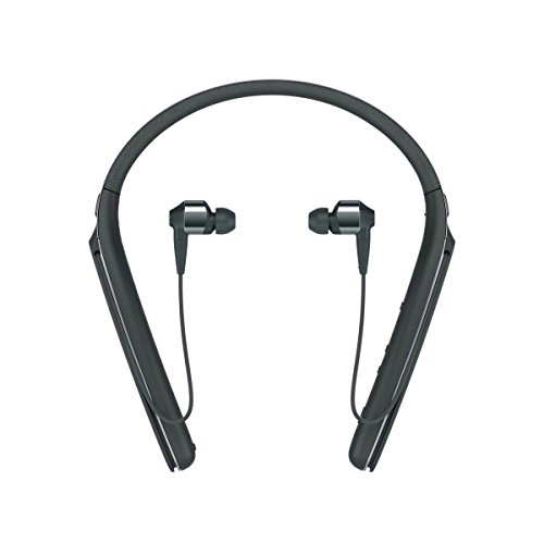 Sony WI-1000X Cuffie Wireless In-Ear con Noise Cancelling, Hi-Res Audio, DSEE HX, Bluetooth, NFC, Nero, con Alexa integrata