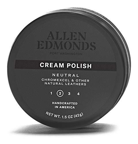 Allen Edmonds Men's Cream Polish Shoe, Neutral, One Size 0X US