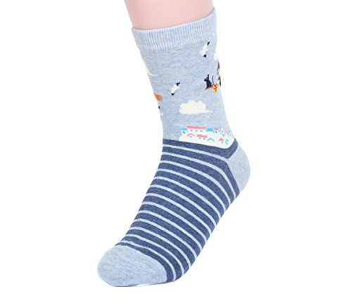 Women Miyazaki Hayao Cartoon Socks One Size