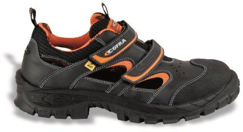 Cofra de seguridad sandalias de Asgard 13010-001 Vithar S1 P ESD ideal en verano, colour negro, Negro, 13010-001