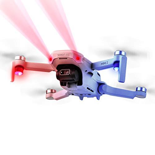 TOMAT Mavic Mini 2/Mini Night Flight Light Headlight + LED Warning Light Signal Night Flashing Lights for DJI Mini 2 / Mavic Mini Drone Accessories
