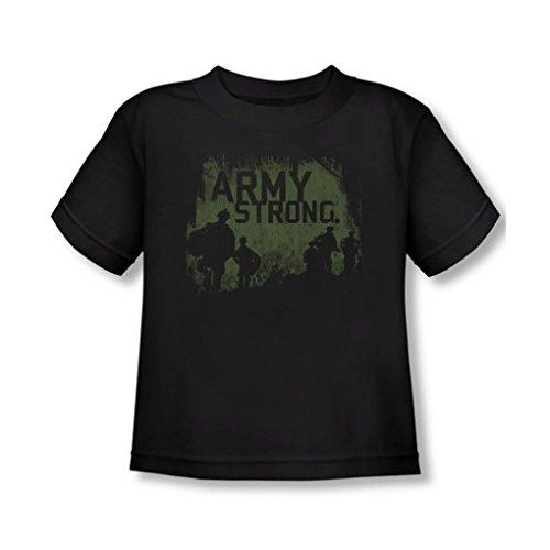 Army - - T-shirt pour jeunes enfants Soilders, 2T, Black