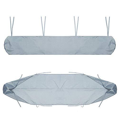 ZDAMN Sofa-afdekking buitenshuis 300D Oxford buitenpatio luifel opbergtas regen zon UV-tent scherm 5 grijs