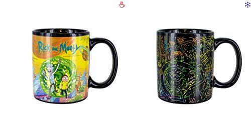 Rick and Morty PP4844RM Taza, 6 Fluid_Ounces, Cerámica, multicolor