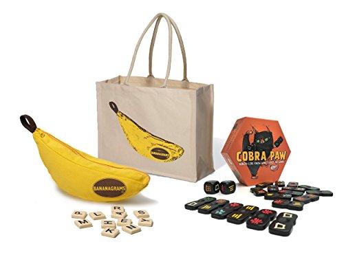 Bananagrams  Cobra Paw  Tote Bag  Bananagrams Family Games Bundle