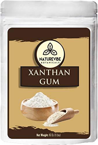 Naturevibe Botanicals Xanthan Gum, 1lb | Thickening Agent (16ounces)