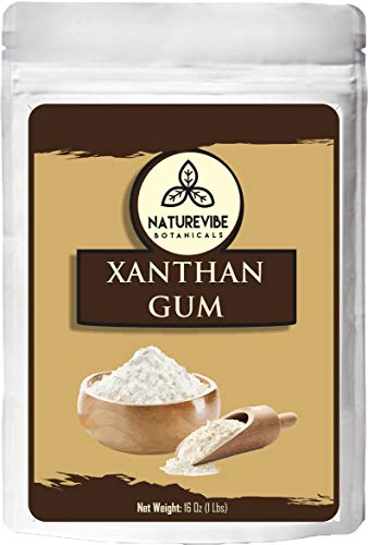 Naturevibe Botanicals Xanthan Gum, 1lb | Non-GMO and Gluten Free | Thickening Agent