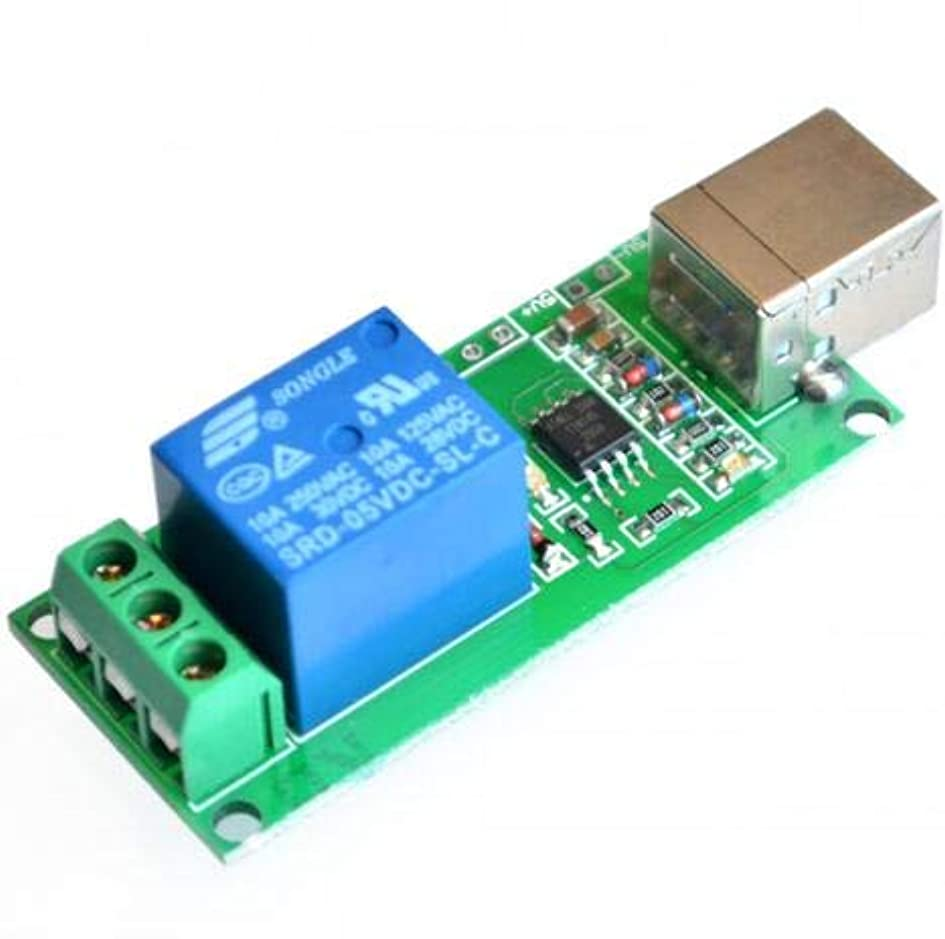 イデオロギー聴くグレートオークWillBest 5V USB Relay 1 Channel Programmable Computer Control For Smart Home