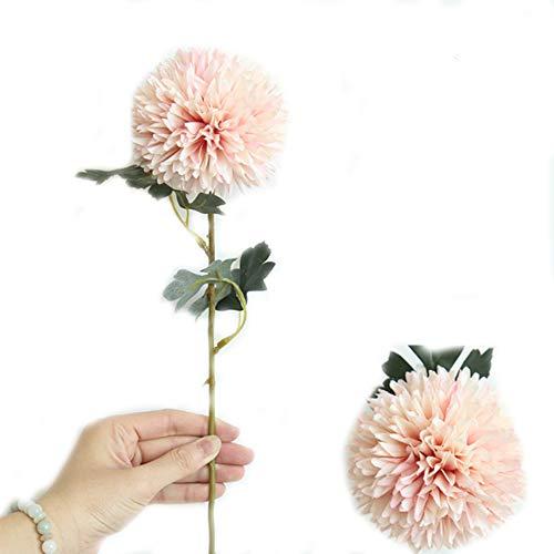 ndier medios de diente de León Artificial, Bouquet flores de diente de León de tela románticas flores falsos decoración para Boda, Fiesta, Fiesta, etc. (L)