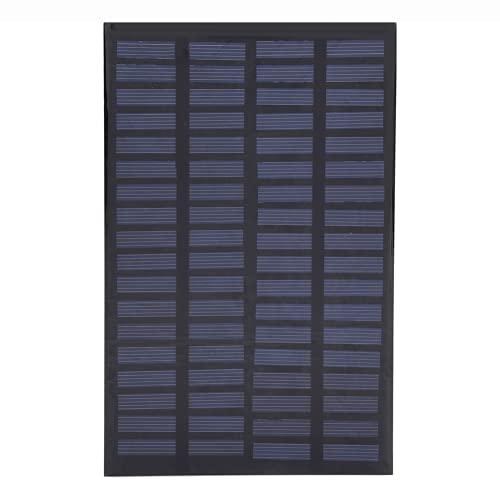 01 Panel Solar, Cargador de batería Solar portátil Panel de célula Solar 2.5W 18V para Cargador de energía de Bricolaje para Exteriores