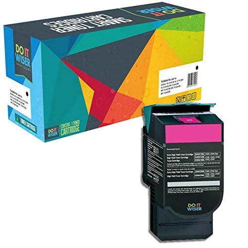 Do it wiser kompatible Toner als Ersatz für Lexmark C540H1MG C540N C543DN C544DN X543DN X544 C540 C544 C544DW C544N C546DTN X543 X544DN X544DW X544N X546DTN X548DE X548DTE C543 (Magento)