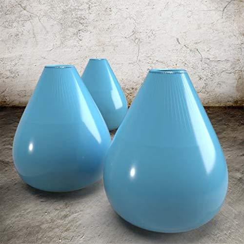 Steingut-Glasuren – Hochtemperatur-Farbglasur, glänzend, halbtransparent für Keramik bis zu 1250 °C (Maya-Blau)