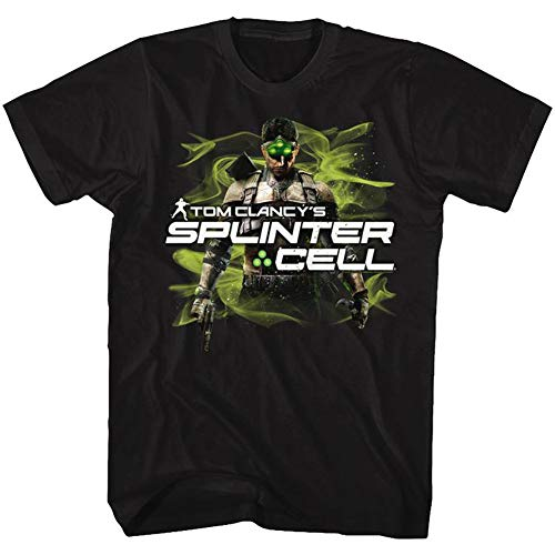 Splinter Cell Sam Fisher - Camiseta para hombre -  Negro -  3X-Large