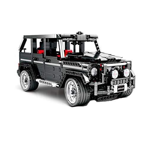 SLL Spielzeug Mercedes Big G Fernbedienung Gelände Auto Sportwagen Bauklotz Assembly Erwachsen Erwachsen Schwierige 3D-Modell-Spielzeug