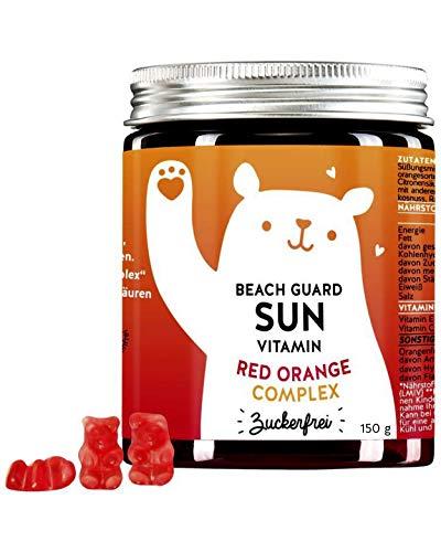 BEARS WITH BENEFITS® Red Orange Complex Gummibärchen - 1 Bärchen Täglich - Vitamin C & E Hochdosiert - Laborgeprüft & Made In Germany (60St)