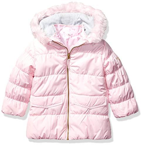 Osh Kosh Baby Girls 4 in 1 Heavyweight Systems Jacket, Pink Flower Pot, 12Mo