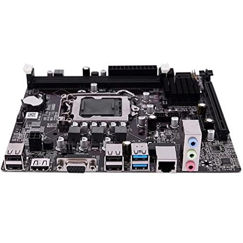 Auoeer B75 LGA 1155 computadora Principal de Escritorio con SATA II USB3.0/2.0 PCI-E X16 16G DDR3 1600 Placa Base