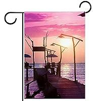 庭の装飾の屋外の印の庭の旗の飾り小さな港 テラスの鉢植えのデッキのため
