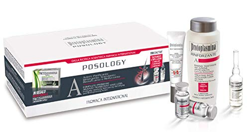 Protoplasmina Kit Posology Anticaduta rinforzante + omaggio integratore tricosammina 30 compresse