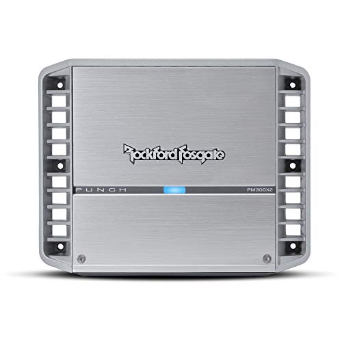 Rockford Fosgate PM300X2 Punch Marine300 Watt 2-Channel Amplifier