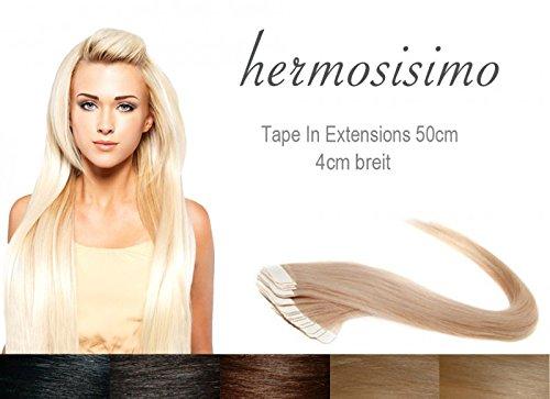 Tape In Extensions I Rocket Hair I Extensions de cheveux I 20 cm I Lot de 4 I # Dark Green