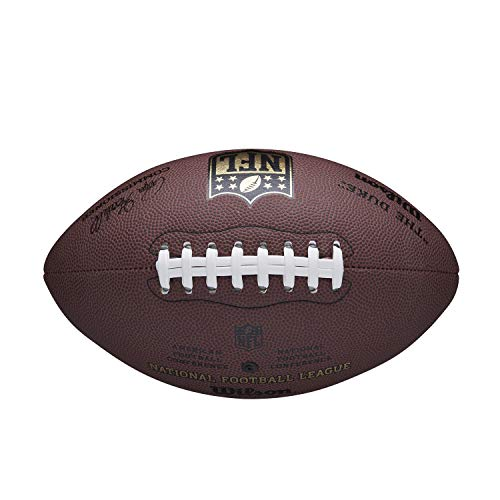 Wilson Men NFL Duke Replica American Football, , Official Size