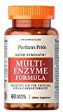 Puritan's Pride Super Strength Multi Enzyme-60 Caplets...