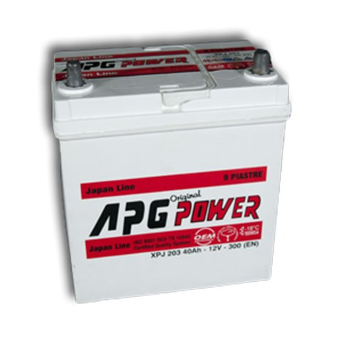 APG XPJ203P ORIGINAL JAPAN LINE - Batteria auto,...