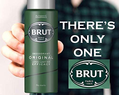 Brut Original Deodorant 6 stuks, 6 x 200 ml originele deodorant