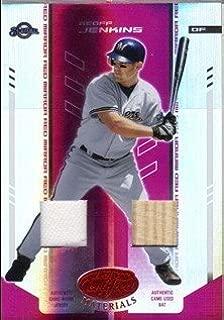 2004 Leaf Certified Materials Mirror Combo Red #68 Geoff Jenkins Bat-Jsy Jersey /250 MLB Baseball Trading Card