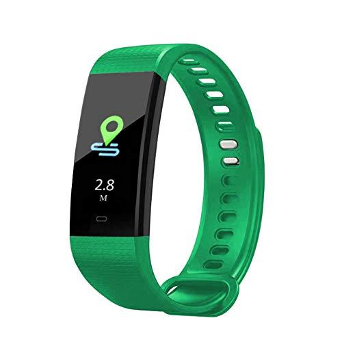 WEIHUIMEI, Braccialetto Smart con Schermo a Colori USB 4.0, Bluetooth con cardiofrequenzimetro, Pressione sanguigna, 1 Pezzo