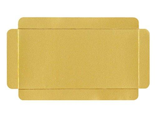 コッタ(Cotta) ロールケーキ用金台紙TO ゴールド 20.2×10cm 59990 10枚入