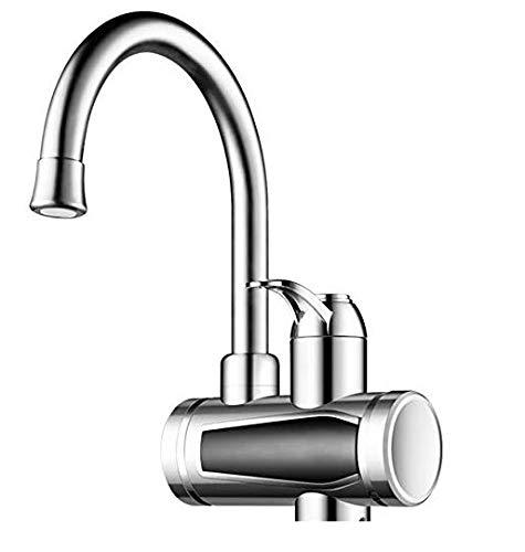Elektrische Wasserhahn LED Temperaturanzeige Heizung Wasserhahn Spültischarmatur Mischbatterie für Küche und Bad