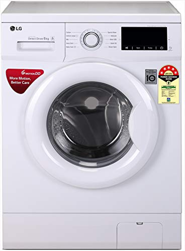 LG 6 kg Inverter Fully-Automatic Front Loading Washing Machine...